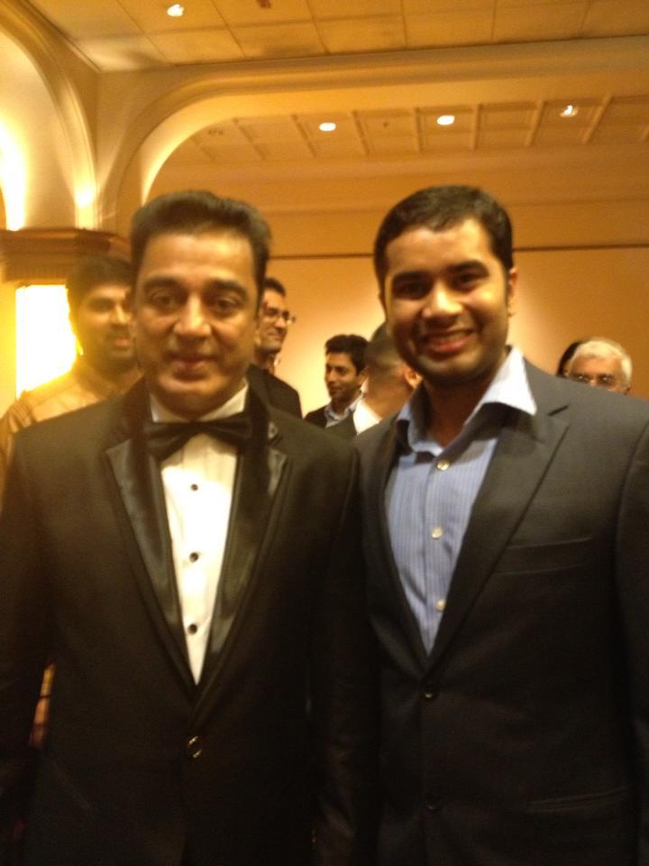 With Kamal Hassan